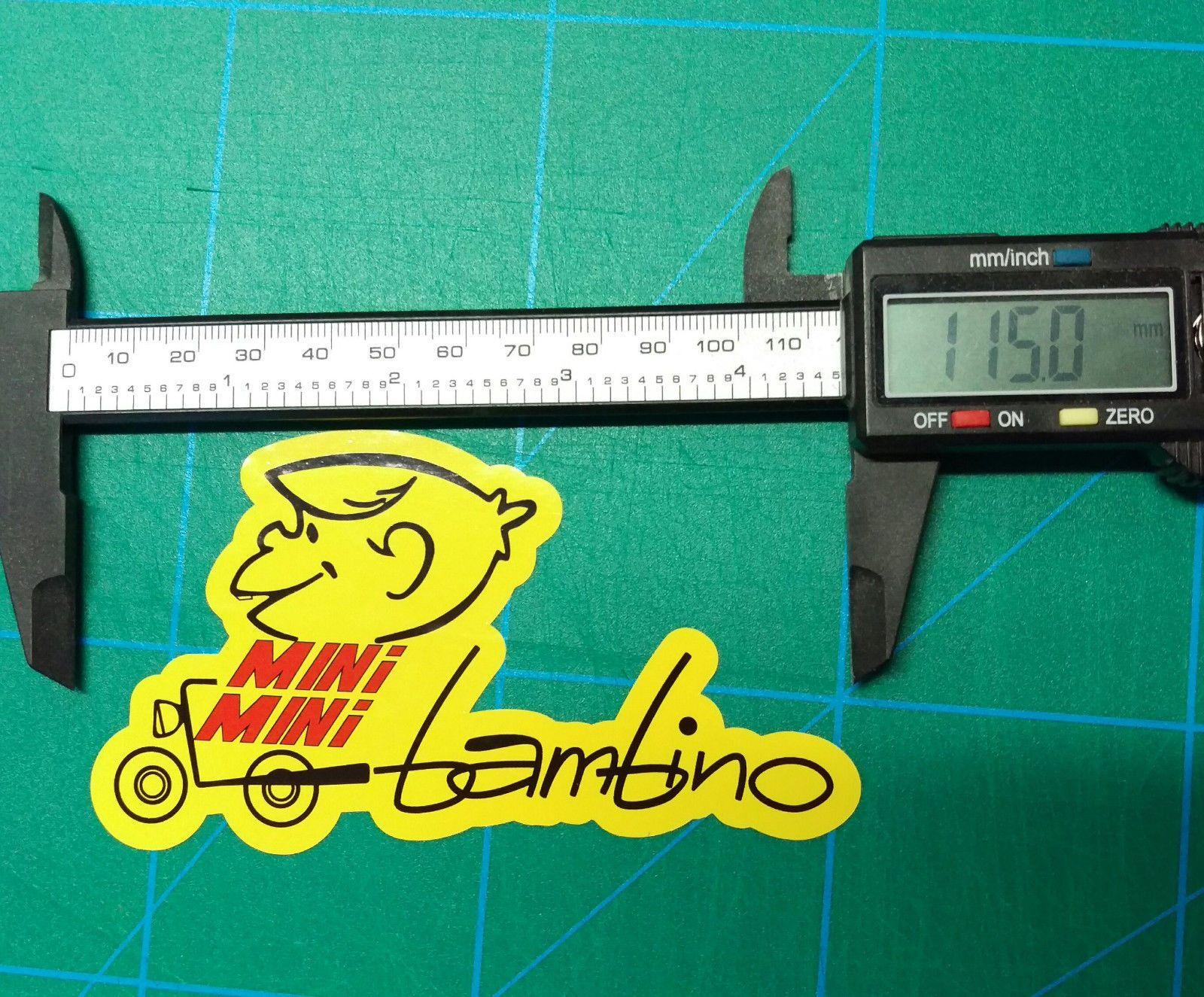 Italjet Mini Mini Bambino Indian Vintage Sticker Mm5a