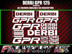 Derbi Cross City stickers Crosscity SM Senda supermoto 50 125 black//silver