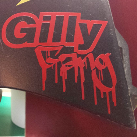 Gilly Gang Sticker Decal Gillera Scooter