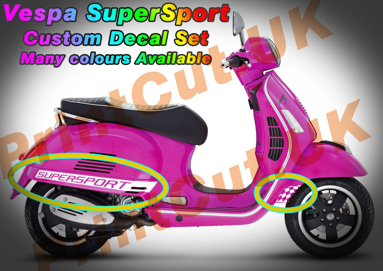 Vespa Sticker Pack