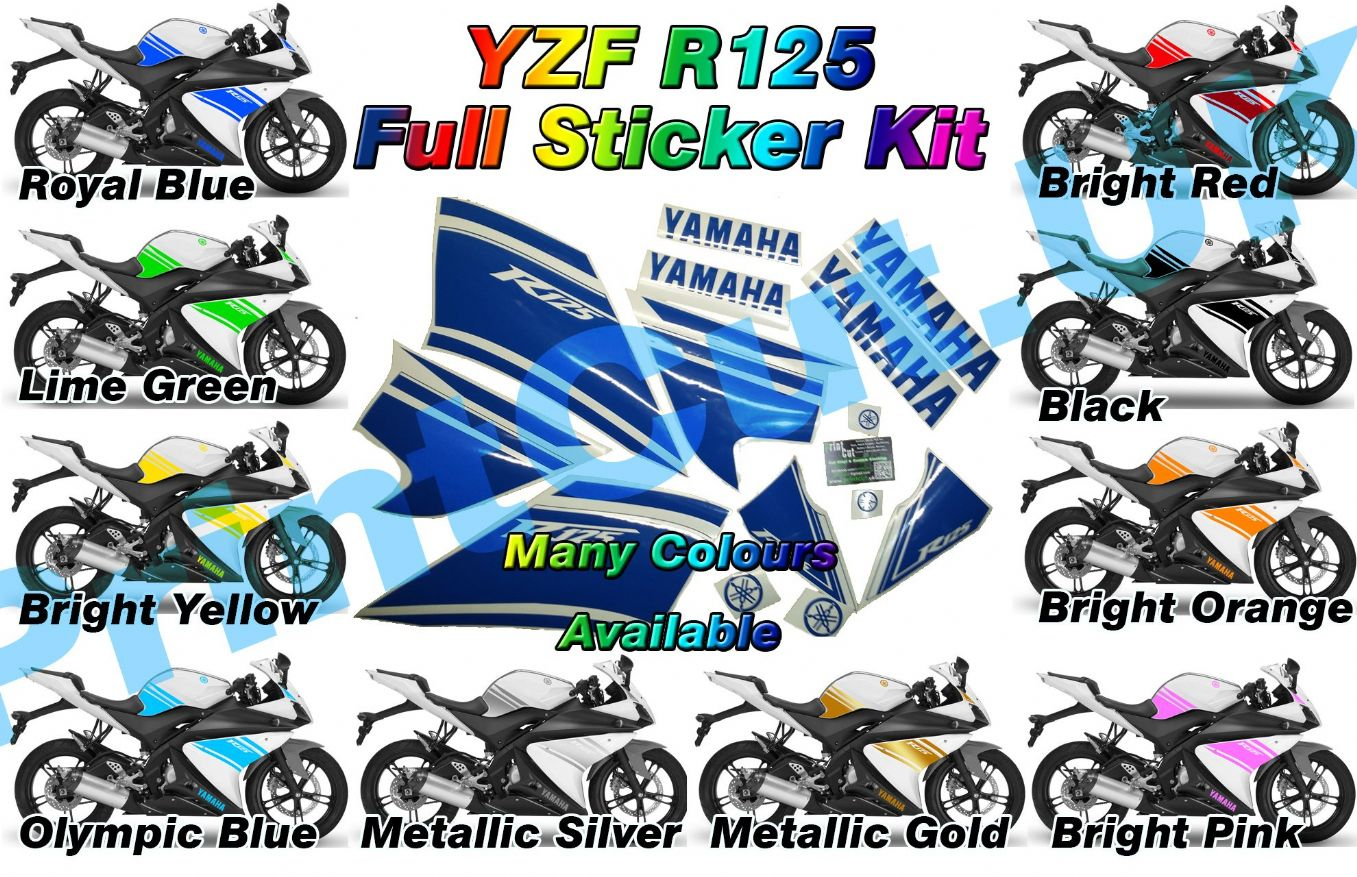 Yamaha R Stickers