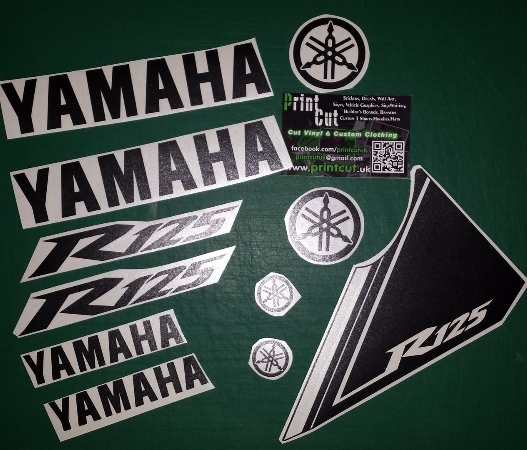 Yzf R125 Rep Decal Sticker Pack Yzfr125 11 Piece